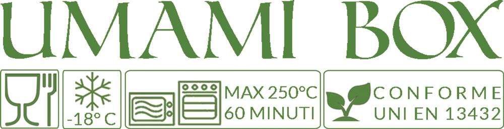 Umami Box Adatte dal congelamento al forno tradizionale e microonde per cottura